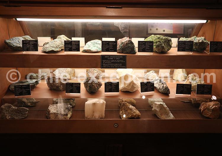 Collection de minerais, musée des mines