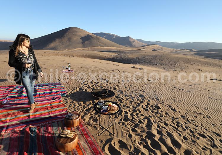 Excursion dans le désert, Chili