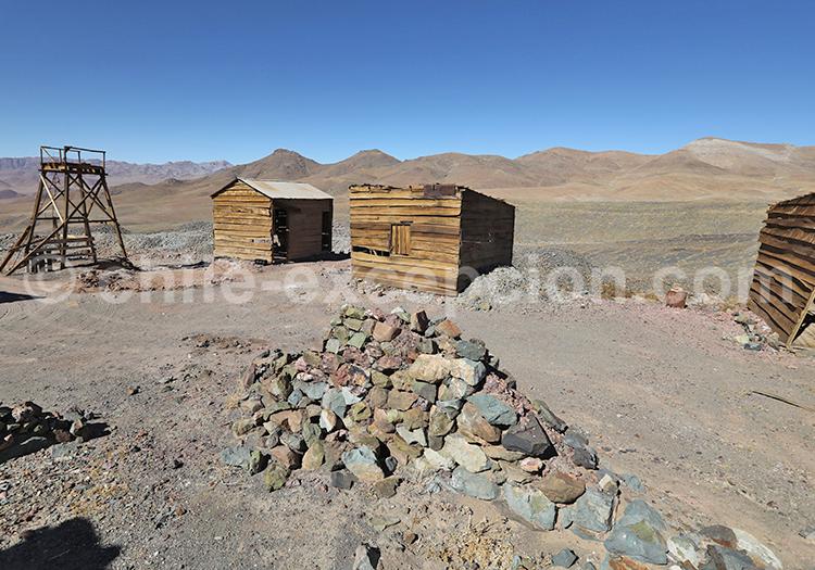 Anciennes mines du Chili