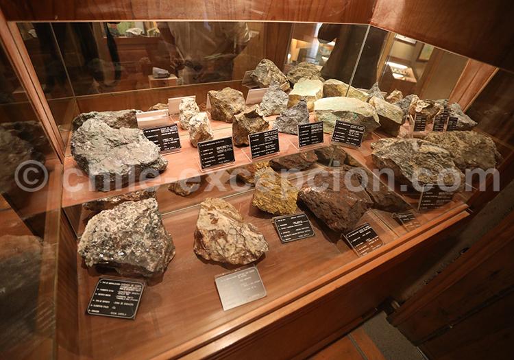 Collection de roches, musée des mines