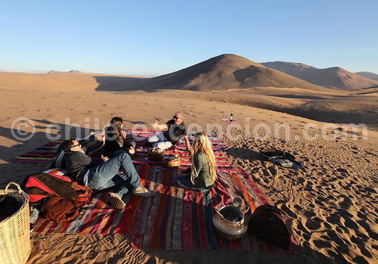 Agence de voyage, dunes de Copiapo, Chili