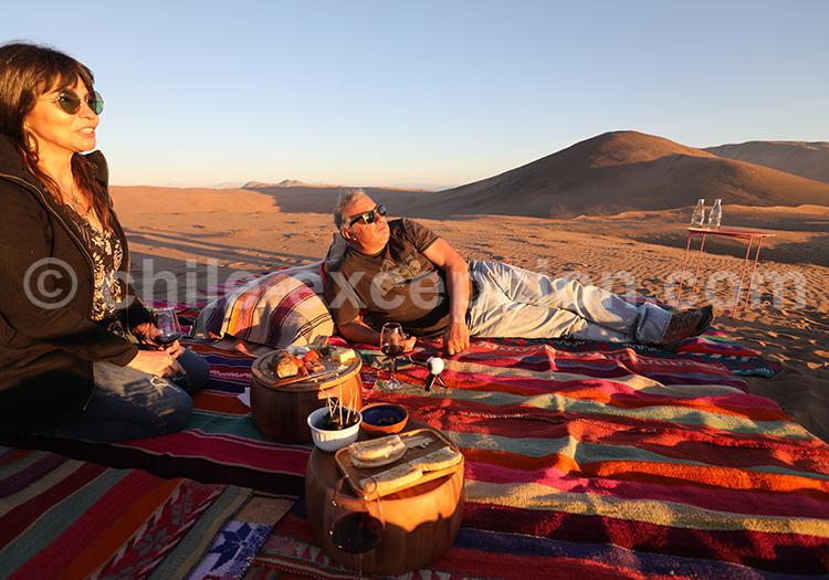 Dunes géantes du désert du Nord du Chili