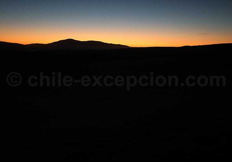 Coucher de soleil, Chili
