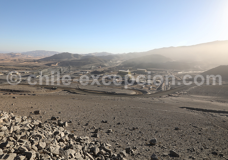 Mine Cerro Negro Norte, alentours de Copiapo