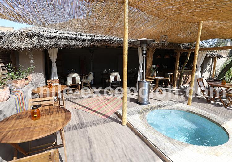 Hôtel de luxe au Chili