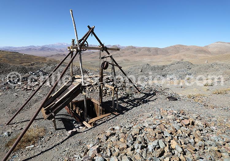 Mines La Cirujana y Las Guias, alentours de Copiapo