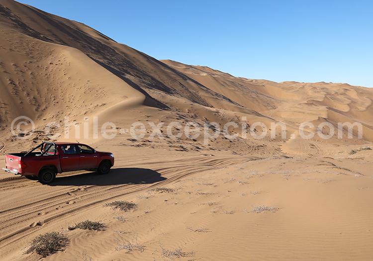 Vents du désert, dunes de Copiapo, Chili