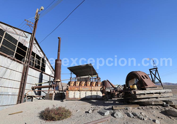 Visite de la mine de Galleguillos, Copiapo