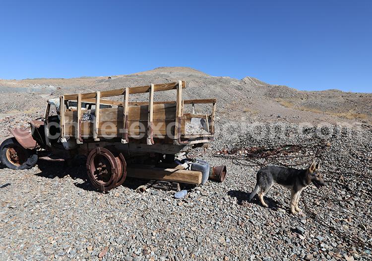 Mines La Cirujana y Las Guias, Ruta del Desierto