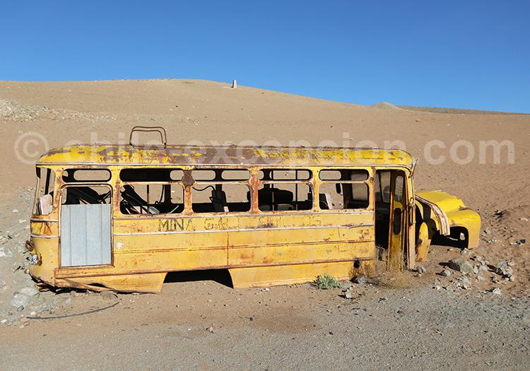Excursion dans les mines du Chili