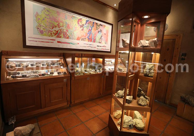 Musée des mines, ruta del desierto