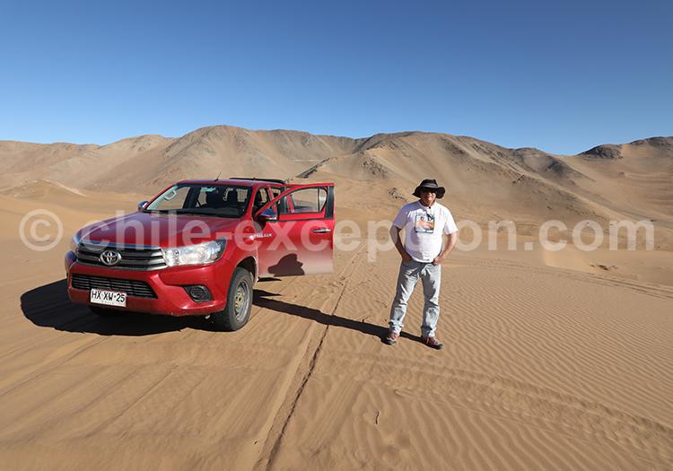 Dunes du désert de Copiapo, Chili