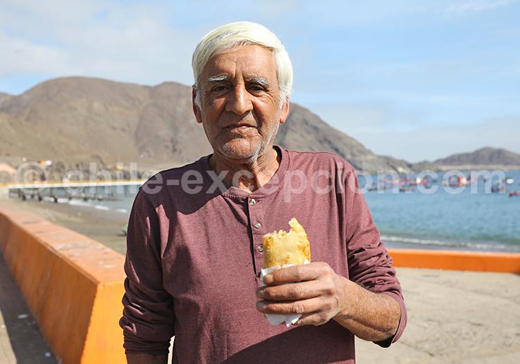 Portrait d'un pêcheur, Taltal, Chili