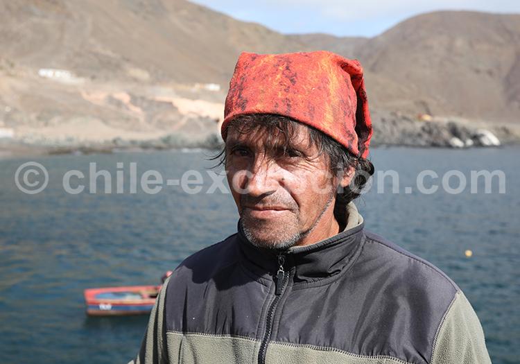 Pêcheurs du désert, Taltal, Chili