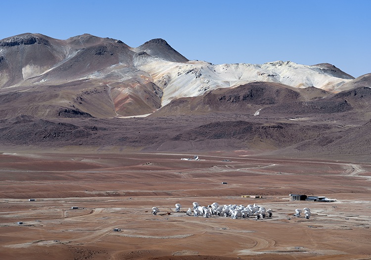 Observatoire Alma - Crédit A CaproniESO