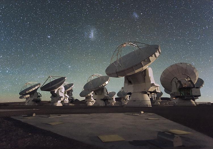 Observatoire Alma - Crédit ESOC Malin