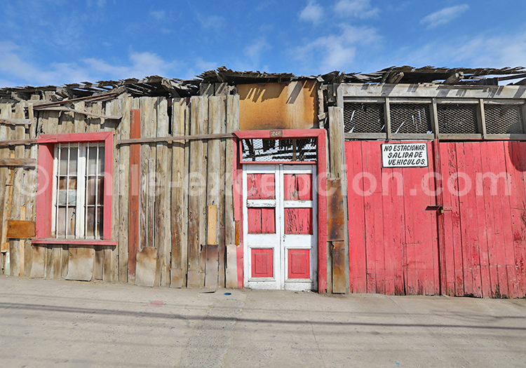 Maisons du désert, Chili