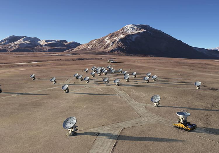Observatoire Alma - Crédit ESONAOJNRAO