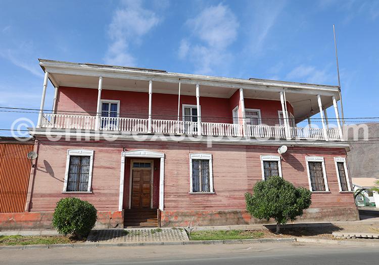 Maison coloniale Taltal, Chili