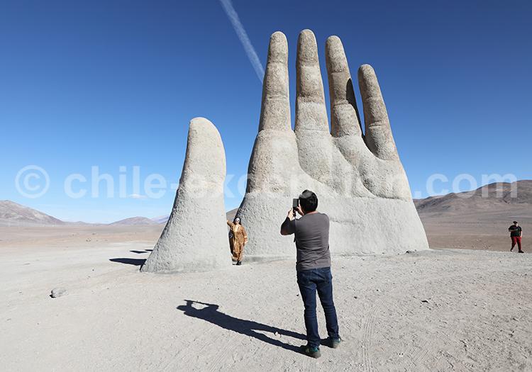 Mano del Desierto, Chili