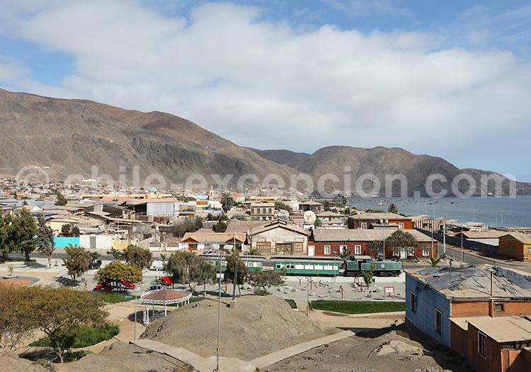 Mines San Ramón, village Taltal, Chili