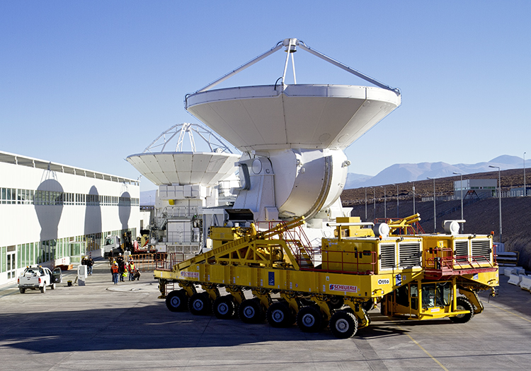Observatoire Alma - Crédit ESOS. Rossi
