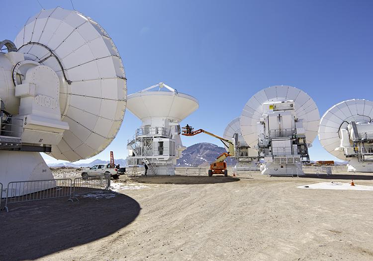 Observatoire Alma - Crédit ESO