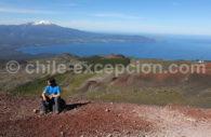 Lac Llanquihue et volcan Cabilco