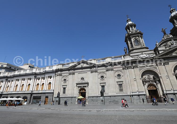 Cathédrale métropolitaine, architecte Toesca, Chile
