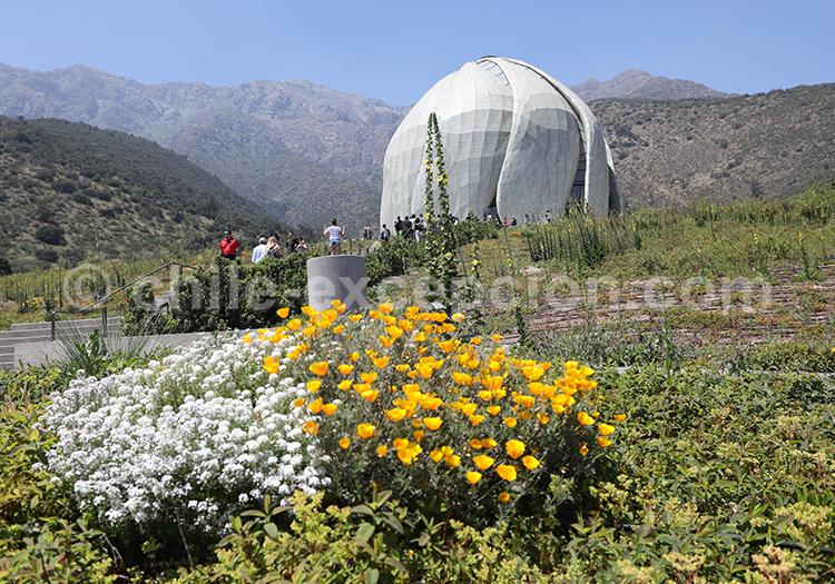 Temple Bahá'í de Sudamérica, Chili