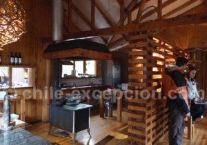 Hotel Entre Hielos, Patagonie