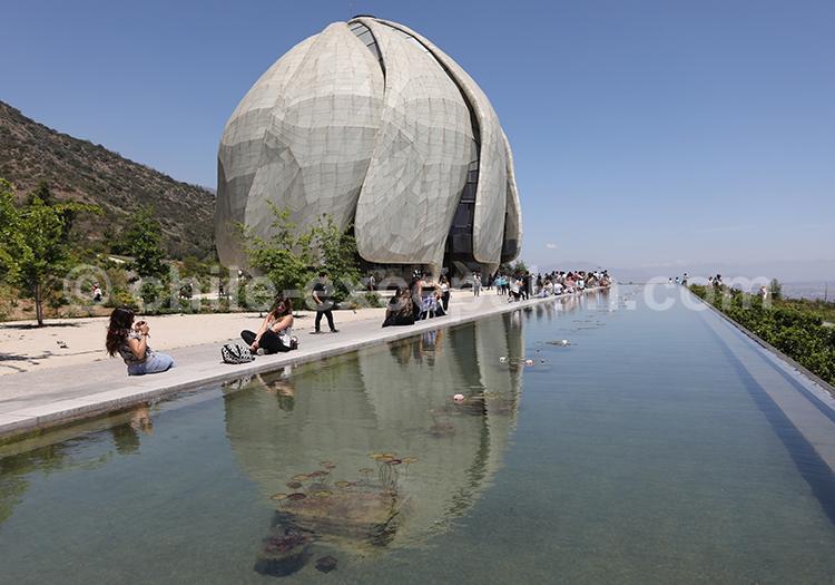 Visiter le Temple Bahá'í de Sudamérica, Santiago du Chili