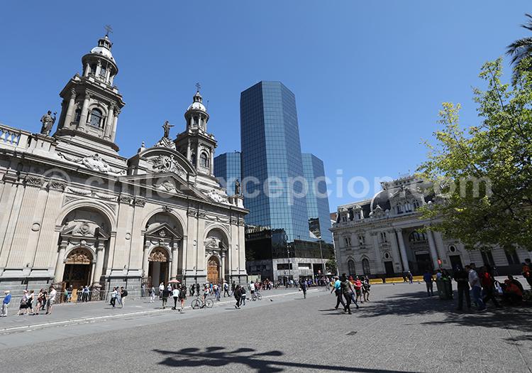 Histoire du Chili, cathédrale métropolitaine