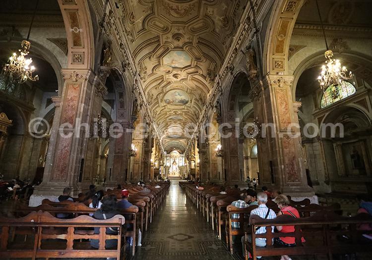 Intérieur de la Cathédrale métropolitaine de Santiago