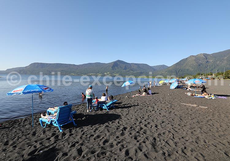Lac Villarrica, alentours de Pucón, Chili