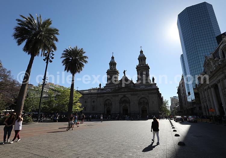 Cathédrale métropolitaine de Santiago, Chili
