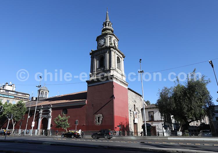San Francisco, centre de Santiago de Chile