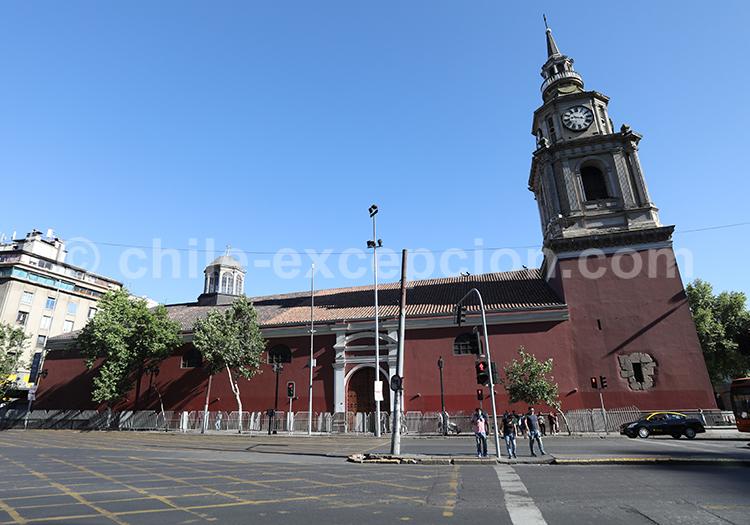 Église San Francisco, capitale du Chili