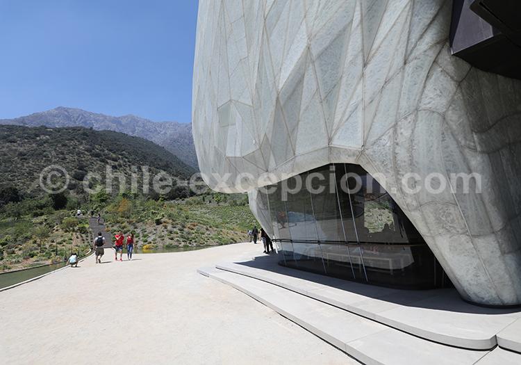 Temple Bahá'í, visite de Santiago du Chili