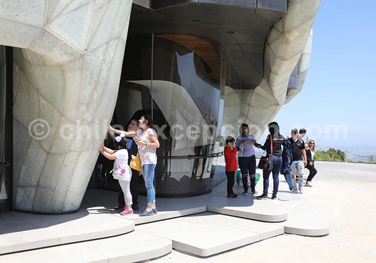 Visite libre du Temple Bahá'í de Sudamérica, Santiago du Chili