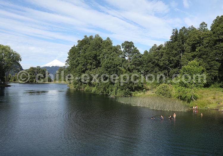 Lac Calafquén, Sud du Chili