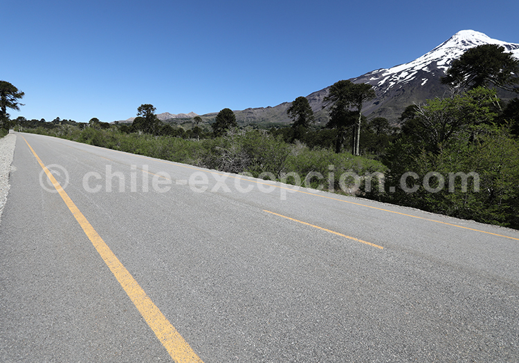 Paso Mamuil Malal, Chili