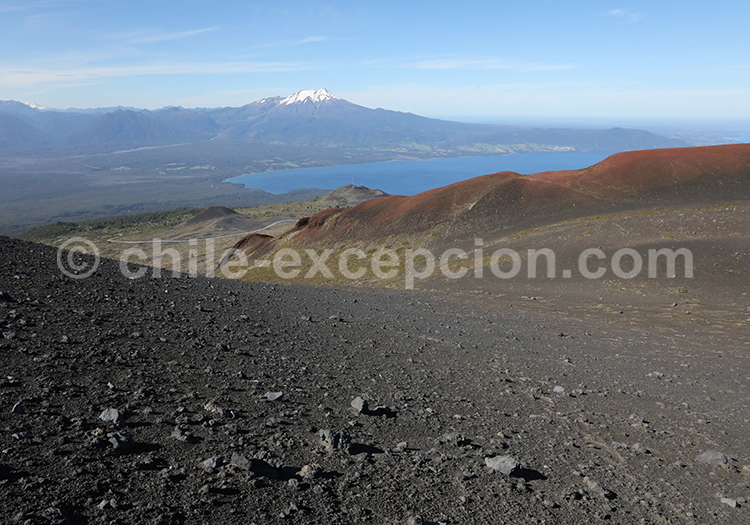 Cratère Rouge, volcan Osorno
