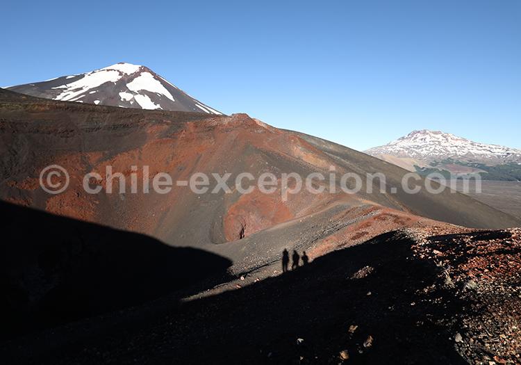 Trekking au cratère Navidad, Chili