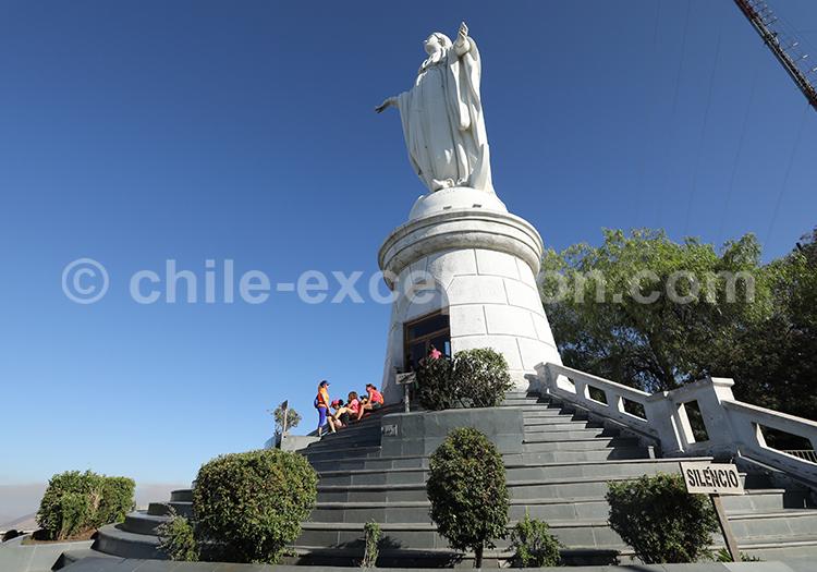 Colline du Cerro San Cristóbal, Santiago de Chile