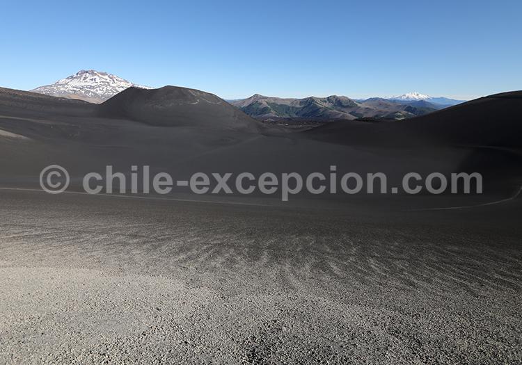 Cratère Navidad, volcan Lonquimay