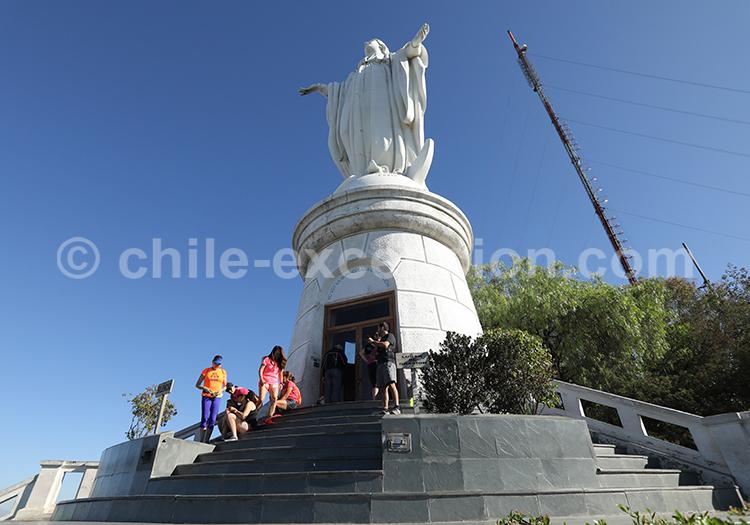 Visite de la chapelle du Cerro San Cristóbal