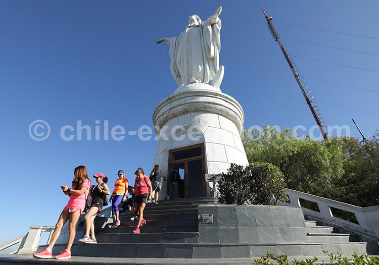 Santuario de la Inmaculada Concepción, Cerro San Cristóbal
