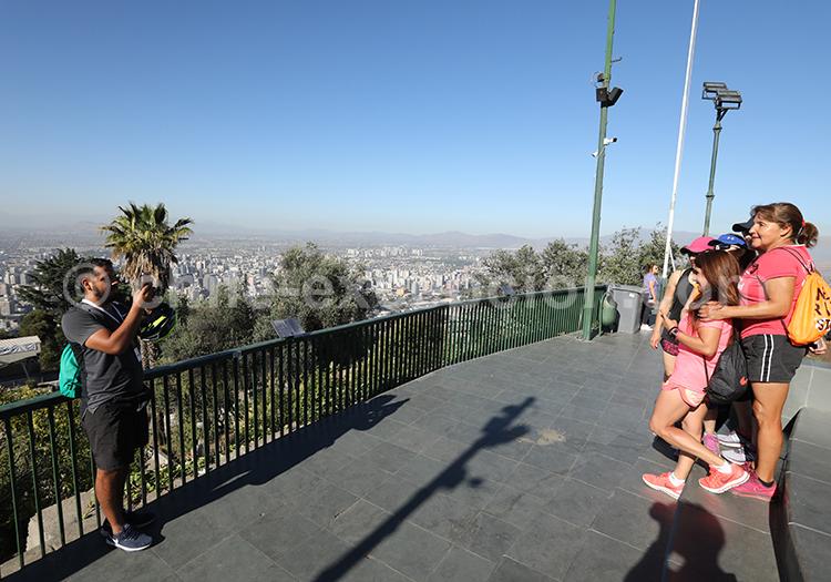 Visite du Cerro San Cristóbal