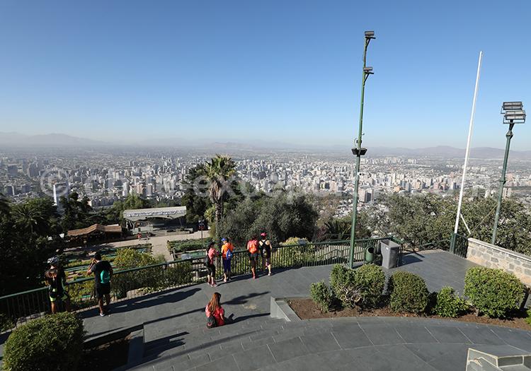 Cerro San Cristóbal, Santiago du Chili